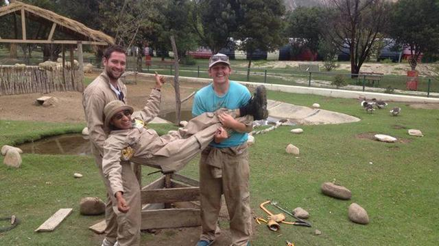 Join the team at a Zoo in Bolivia's team photo