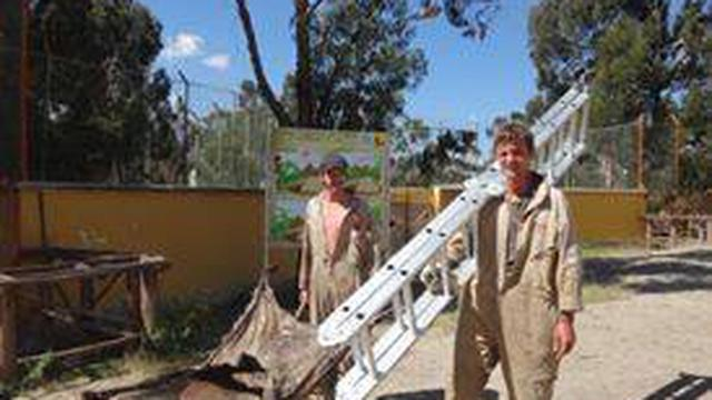 Join the team at a Zoo in Bolivia's project photo