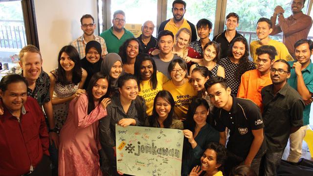 Web Designer 's team photo