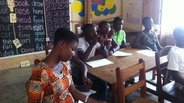 Web Developer for Health and Education NGO in Ghana's impact photo