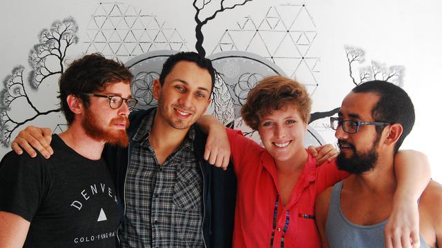 Online marketing specialist's team photo
