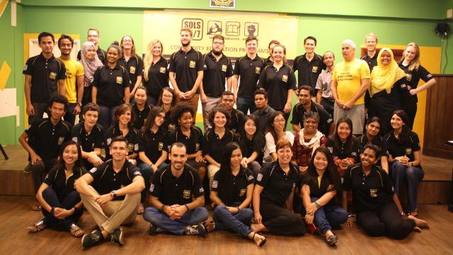 International Community Center Manager 's team photo