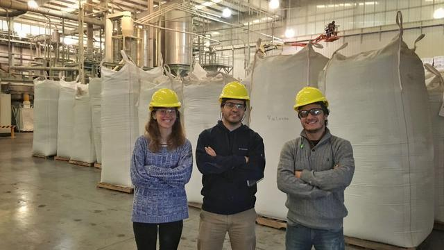 R&D on more efficient construction materials from discarded plastics's team photo