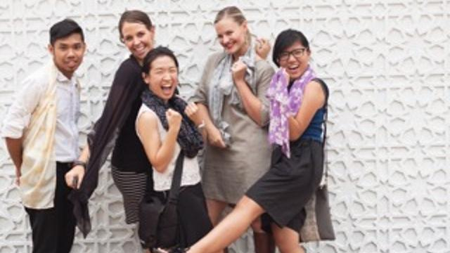 Empower Women Through Fashion and Design's team photo