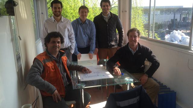 Strategy Roadmap Consultant for waste management and recycling company's team photo