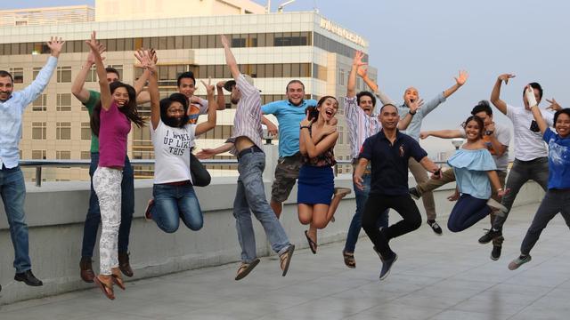 Graphic Design Fellow's team photo