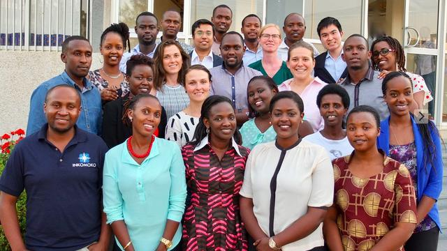 Business Mentor to Young Rwandan Entrepreneurs's team photo