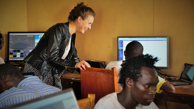 Learn social impact frameworks and use it for: providing digital job opportunities in remote Africa