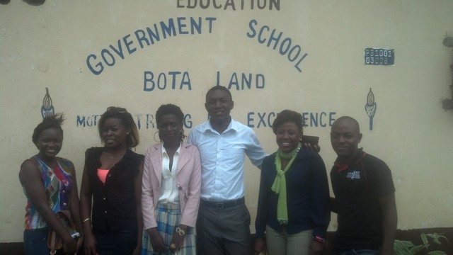 IT Education Officer's team photo