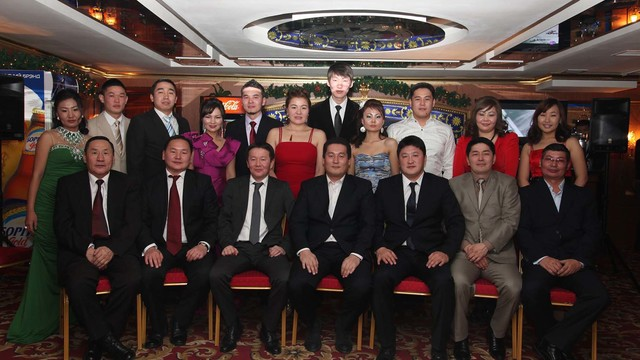 Lead acid battery experteer for a new manufacturing plant in Mongolia 's team photo