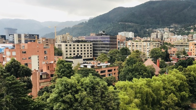 Pro-active business development for social start up Bogota 's city photo