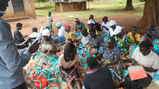 Learn social impact frameworks and use it for: Training of women and girls in making beautiful baskets