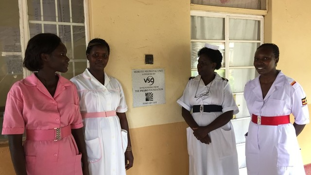 Sexual Reproductive Health Midwife Opportunity in Uganda's team photo