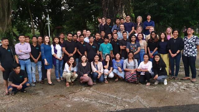 Impact Measurement for Urban Regeneration in Myanmar's team photo