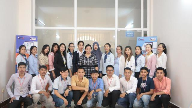 HR & People Development to Support Healthcare in Cambodia's team photo