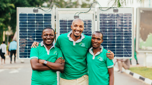 Embedded Software Architect to Help Close the Digital Divide in Africa's team photo