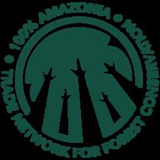 100% Amazonia logo